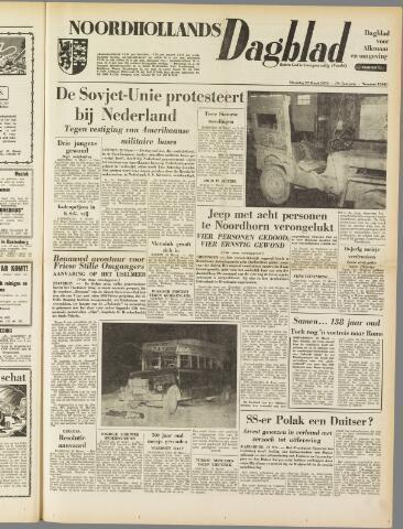 Noordhollands Dagblad : dagblad voor Alkmaar en omgeving 1954-03-22