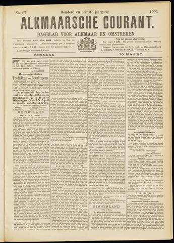 Alkmaarsche Courant 1906-03-20