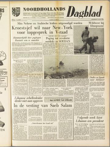 Noordhollands Dagblad : dagblad voor Alkmaar en omgeving 1958-07-24