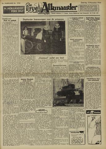 De Vrije Alkmaarder 1949-11-12