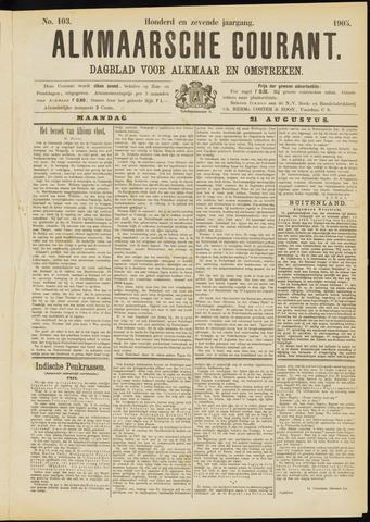 Alkmaarsche Courant 1905-08-21