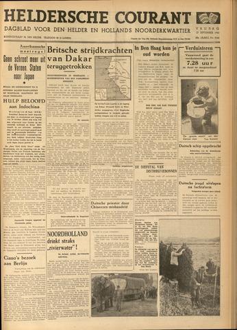 Heldersche Courant 1940-09-27
