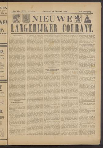 Nieuwe Langedijker Courant 1922-02-28