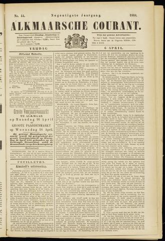 Alkmaarsche Courant 1888-04-06
