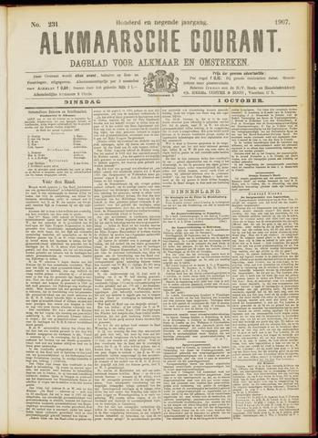 Alkmaarsche Courant 1907-10-01