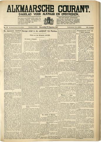 Alkmaarsche Courant 1937-08-25