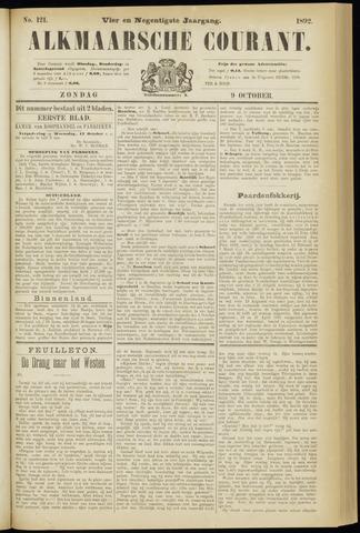 Alkmaarsche Courant 1892-10-09