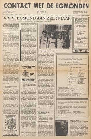 Contact met de Egmonden 1971-07-28