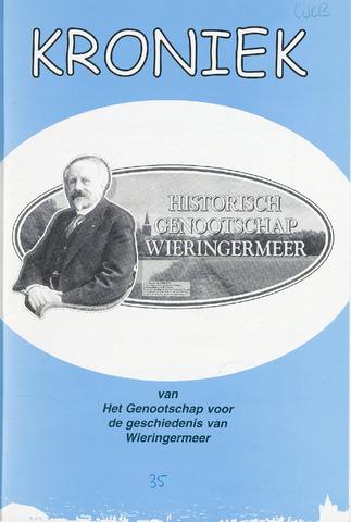 Kroniek Historisch Genootschap Wieringermeer 2003-08-01