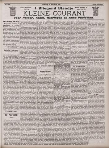 Vliegend blaadje : nieuws- en advertentiebode voor Den Helder 1904-08-20