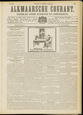 Alkmaarsche Courant 1913-10-15