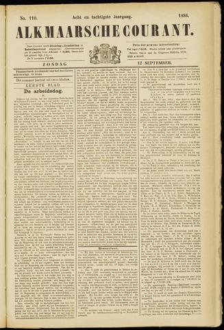 Alkmaarsche Courant 1886-09-12