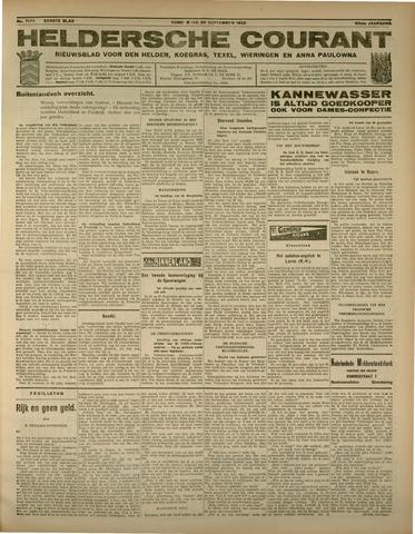 Heldersche Courant 1932-09-29