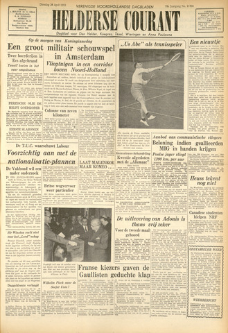 Heldersche Courant 1953-04-28