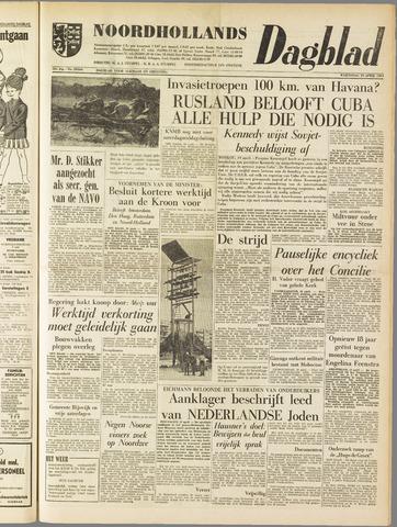 Noordhollands Dagblad : dagblad voor Alkmaar en omgeving 1961-04-19