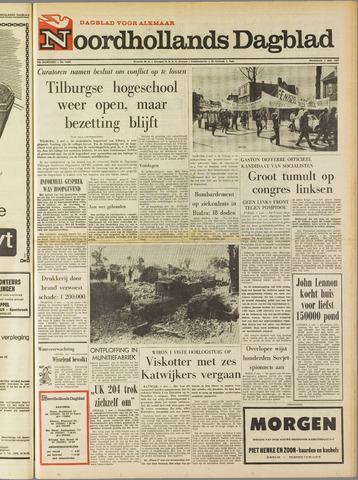 Noordhollands Dagblad : dagblad voor Alkmaar en omgeving 1969-05-05