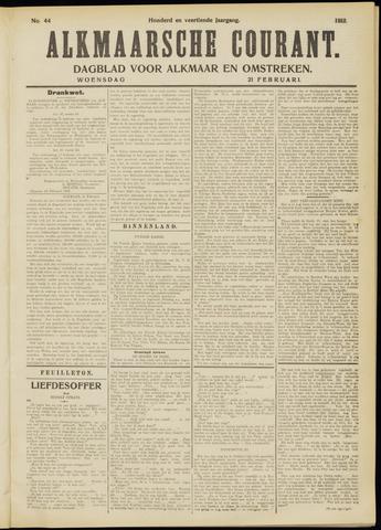 Alkmaarsche Courant 1912-02-21