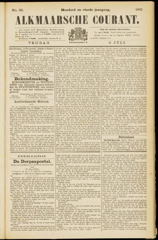 Alkmaarsche Courant 1902-07-11