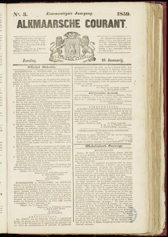 Alkmaarsche Courant 1859-01-16