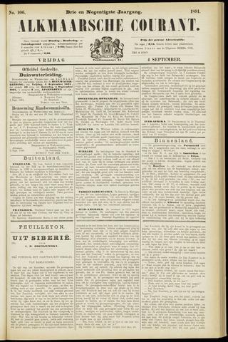Alkmaarsche Courant 1891-09-04
