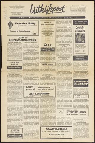 Uitkijkpost : nieuwsblad voor Heiloo e.o. 1970-02-18