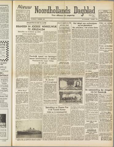 Nieuw Noordhollandsch Dagblad : voor Alkmaar en omgeving 1947-12-03