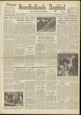 Nieuw Noordhollandsch Dagblad : voor Alkmaar en omgeving 1948-01-24