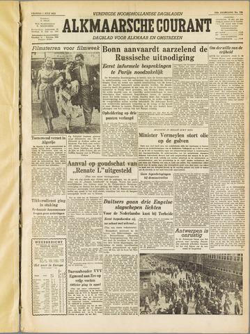 Alkmaarsche Courant 1955-07-01