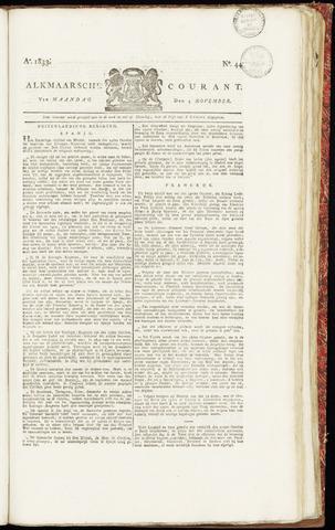 Alkmaarsche Courant 1833-11-04