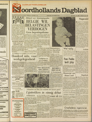 Noordhollands Dagblad : dagblad voor Alkmaar en omgeving 1967-01-21