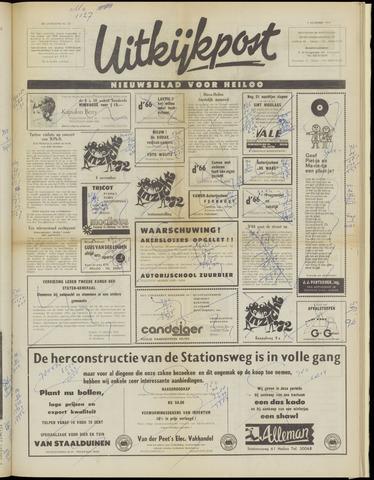 Uitkijkpost : nieuwsblad voor Heiloo e.o. 1972-11-01