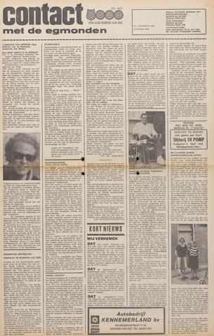 Contact met de Egmonden 1976-08-18