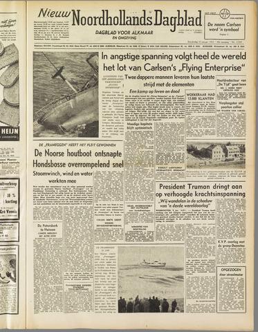 Nieuw Noordhollandsch Dagblad : voor Alkmaar en omgeving 1952-01-10