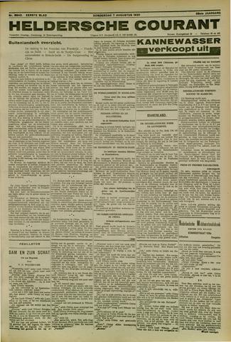 Heldersche Courant 1930-08-07