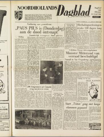 Noordhollands Dagblad : dagblad voor Alkmaar en omgeving 1954-12-04