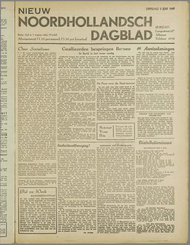 Nieuw Noordhollandsch Dagblad : voor Alkmaar en omgeving 1945-06-05