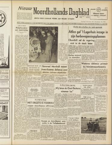 Nieuw Noordhollandsch Dagblad : voor Alkmaar en omgeving 1950-09-13