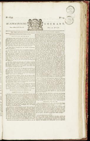 Alkmaarsche Courant 1833-07-22