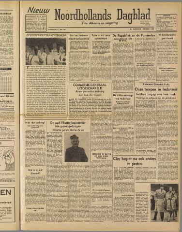 Nieuw Noordhollandsch Dagblad : voor Alkmaar en omgeving 1947-05-21