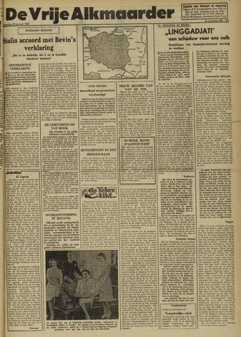 De Vrije Alkmaarder 1947-01-25