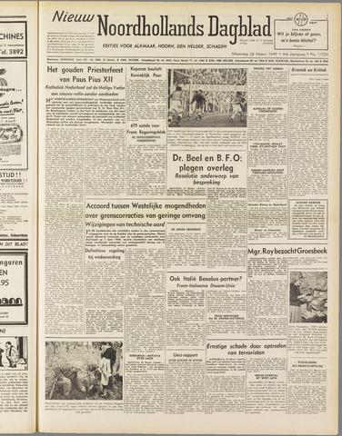 Nieuw Noordhollandsch Dagblad : voor Alkmaar en omgeving 1949-03-28