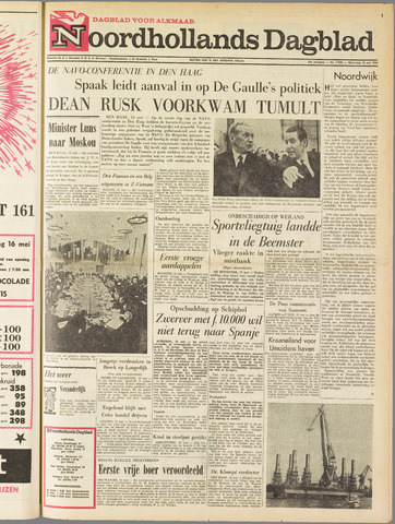 Noordhollands Dagblad : dagblad voor Alkmaar en omgeving 1964-05-13