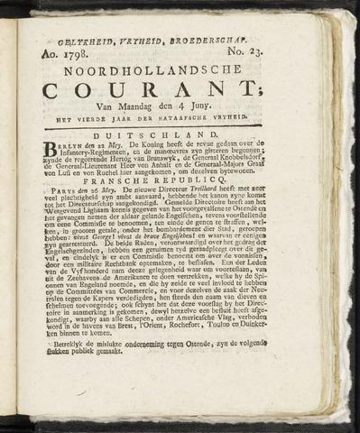 Noordhollandsche Courant 1798-06-04