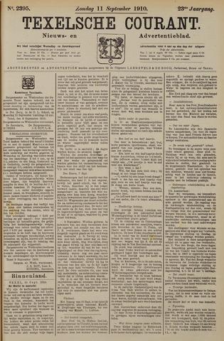 Texelsche Courant 1910-09-11