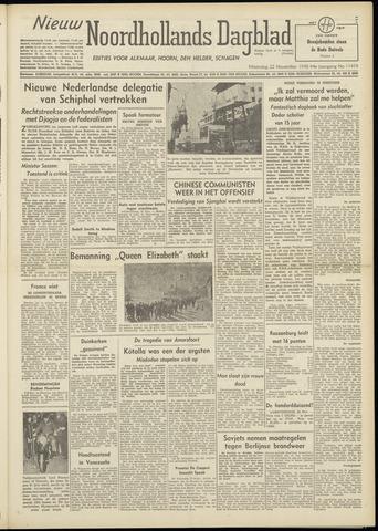 Nieuw Noordhollandsch Dagblad : voor Alkmaar en omgeving 1948-11-22