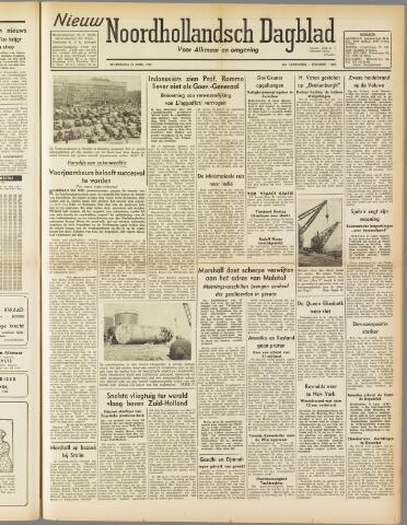 Nieuw Noordhollandsch Dagblad : voor Alkmaar en omgeving 1947-04-16