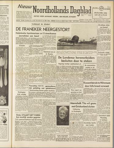 Nieuw Noordhollandsch Dagblad : voor Alkmaar en omgeving 1949-07-12