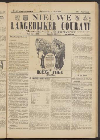 Nieuwe Langedijker Courant 1929-07-25