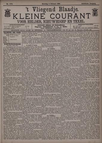 Vliegend blaadje : nieuws- en advertentiebode voor Den Helder 1890-02-08