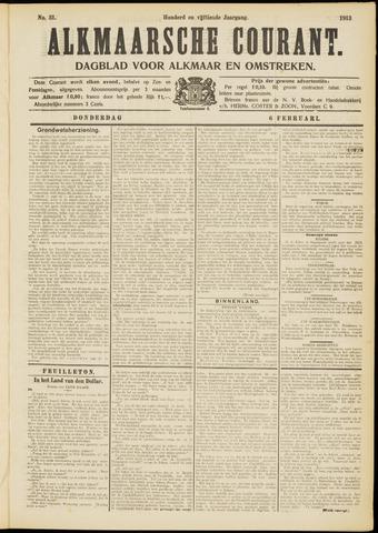 Alkmaarsche Courant 1913-02-06